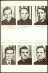 1951 Campion Jesuit High School Yearbook Page 18 & 19