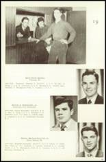 1951 Campion Jesuit High School Yearbook Page 68 & 69