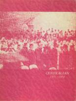 1972 Yearbook Central Community High School