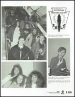 1991 Springfield High School Yearbook Page 142 & 143