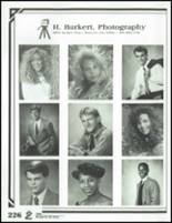 1991 Springfield High School Yearbook Page 230 & 231