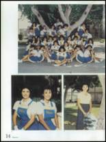 1986 Montebello High School Yearbook Page 18 & 19