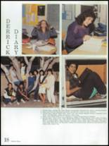 1986 Montebello High School Yearbook Page 22 & 23