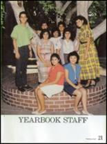 1986 Montebello High School Yearbook Page 24 & 25