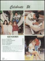 1986 Montebello High School Yearbook Page 26 & 27