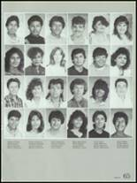 1986 Montebello High School Yearbook Page 68 & 69