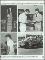 1986 Montebello High School Yearbook Page 74 & 75