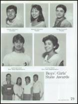 1986 Montebello High School Yearbook Page 82 & 83
