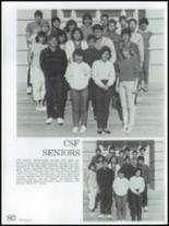 1986 Montebello High School Yearbook Page 84 & 85