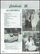 1986 Montebello High School Yearbook Page 118 & 119