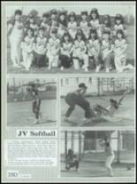 1986 Montebello High School Yearbook Page 184 & 185