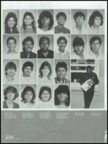 1986 Montebello High School Yearbook Page 210 & 211
