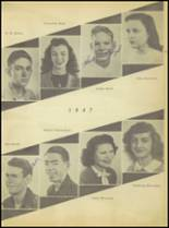 1947 Sweetwater-Newman High School Yearbook Page 20 & 21