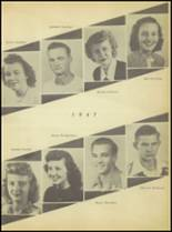 1947 Sweetwater-Newman High School Yearbook Page 26 & 27