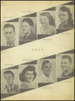 1947 Sweetwater-Newman High School Yearbook Page 28 & 29