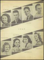 1947 Sweetwater-Newman High School Yearbook Page 30 & 31