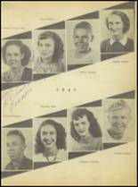 1947 Sweetwater-Newman High School Yearbook Page 32 & 33