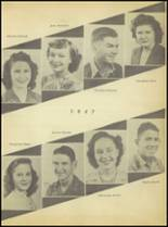 1947 Sweetwater-Newman High School Yearbook Page 34 & 35