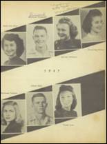 1947 Sweetwater-Newman High School Yearbook Page 38 & 39