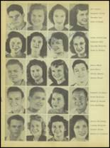 1947 Sweetwater-Newman High School Yearbook Page 42 & 43