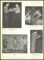 1955 Shawnee High School Yearbook Page 44 & 45