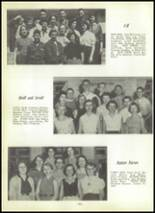1955 Shawnee High School Yearbook Page 98 & 99