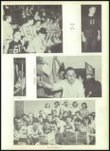 1955 Shawnee High School Yearbook Page 110 & 111