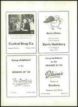 1955 Shawnee High School Yearbook Page 132 & 133