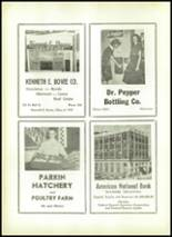 1955 Shawnee High School Yearbook Page 138 & 139