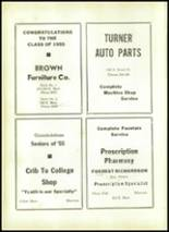 1955 Shawnee High School Yearbook Page 140 & 141