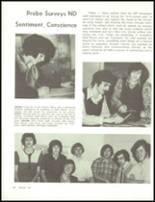 1974 Notre Dame High School Yearbook Page 54 & 55