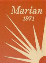 1971 Yearbook Marian Catholic High School
