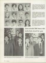 1970 Northwest Classen High School Yearbook Page 218 & 219