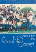 1985 Yearbook Leander High School