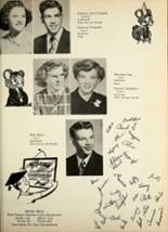 1953 Avilla High School Yearbook Page 18 & 19