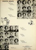 1953 Avilla High School Yearbook Page 24 & 25