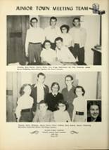 1953 Avilla High School Yearbook Page 42 & 43