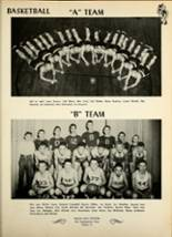 1953 Avilla High School Yearbook Page 44 & 45