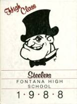 1988 Yearbook Fontana High School