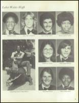 1977 Lake Wales High School Yearbook Page 86 & 87