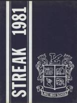 1981 Yearbook Lake High School
