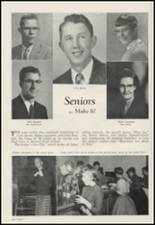 1956 Moscow High School Yearbook Page 20 & 21