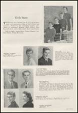 1956 Moscow High School Yearbook Page 22 & 23