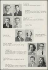 1956 Moscow High School Yearbook Page 28 & 29