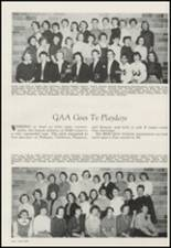 1956 Moscow High School Yearbook Page 52 & 53