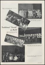 1956 Moscow High School Yearbook Page 68 & 69