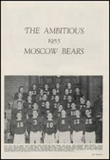 1956 Moscow High School Yearbook Page 88 & 89
