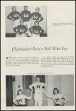 1956 Moscow High School Yearbook Page 102 & 103
