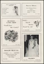 1956 Moscow High School Yearbook Page 114 & 115