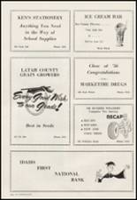 1956 Moscow High School Yearbook Page 116 & 117